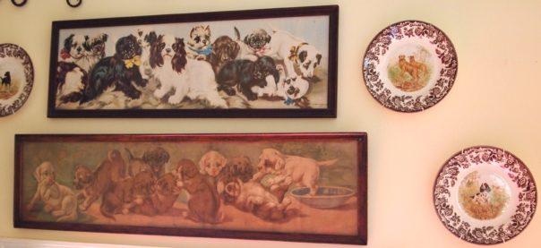 vintage dog prints