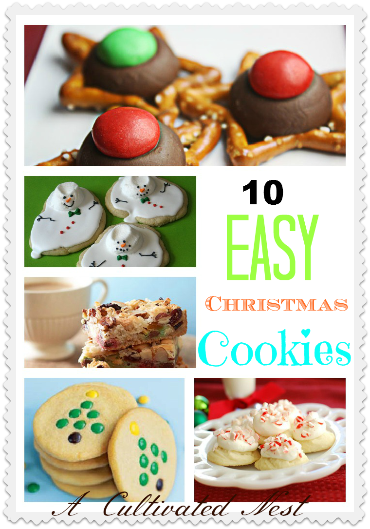 10 Easy Christmas Cookie Ideas