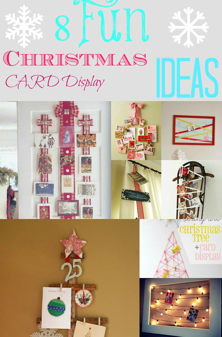 Ideas For Hanging Christmas Cards