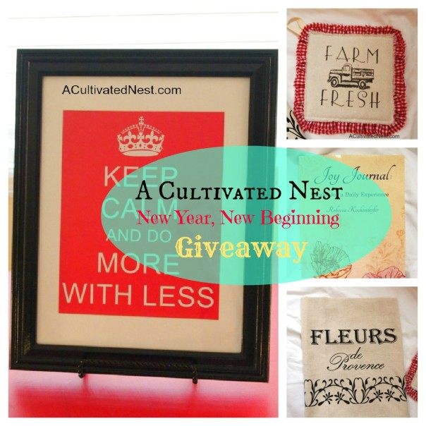 A Cultivated Nest Giveway