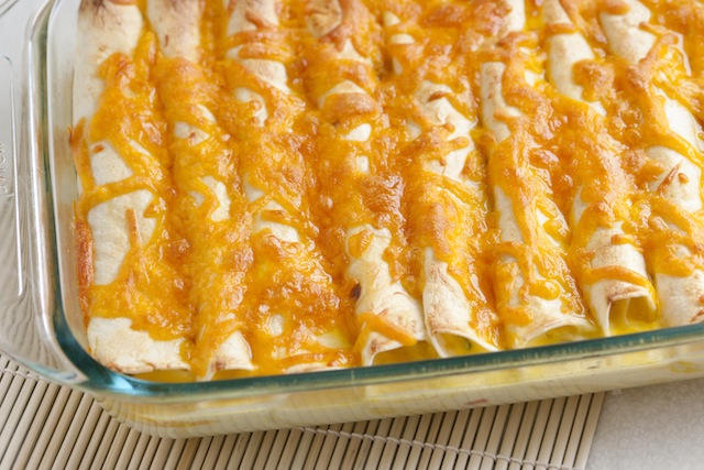 breakfast enchiladas with ham