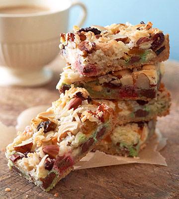 Christmas 7 layer bar cookie