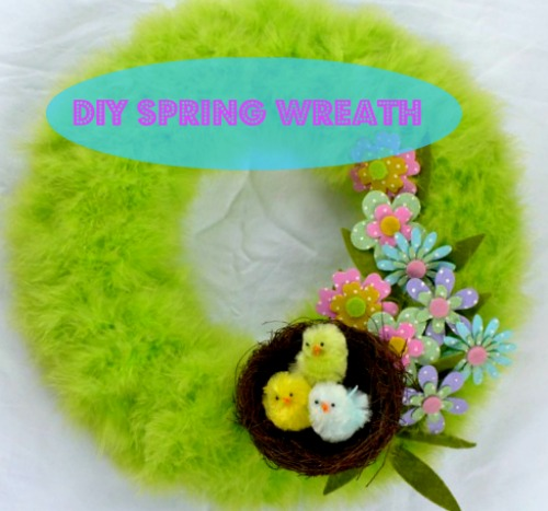 Acultivatednest:DIY spring wreath