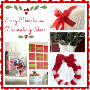 9 Simple Christmas Decorating Ideas