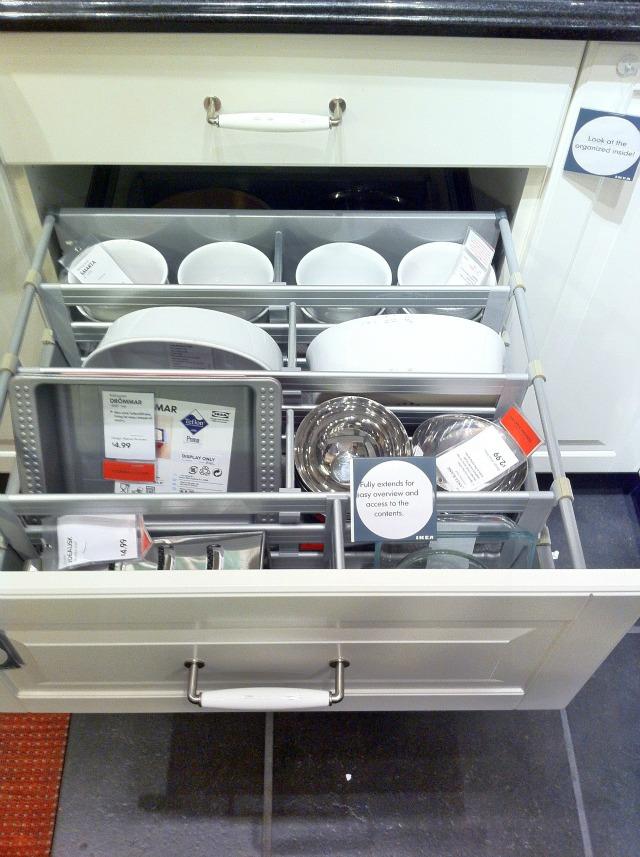 ikea baking drawer - Kitchen Cabinet Organizers Ikea