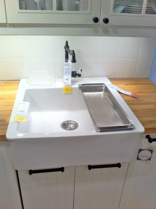 Ikea Farmhouse Sink : Ikea farmhouse sink