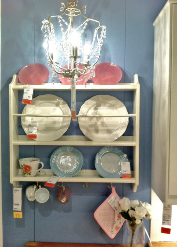 Ikea plate shelf
