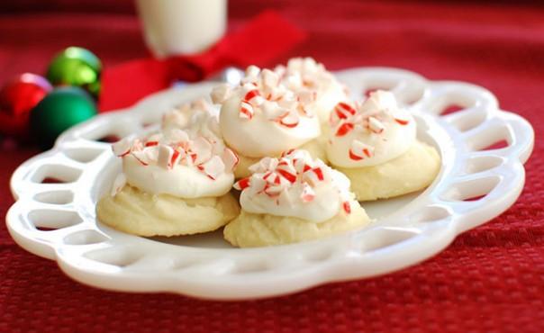 peppermint pretties Christmas cookies
