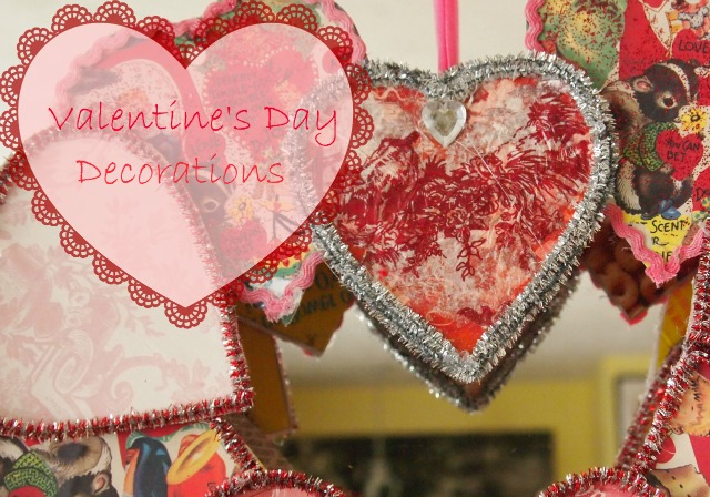 Valentine\'s Day Decorations - A Cultivated Nest