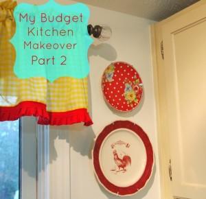 My Budget Kitchen Makeover Part 2
