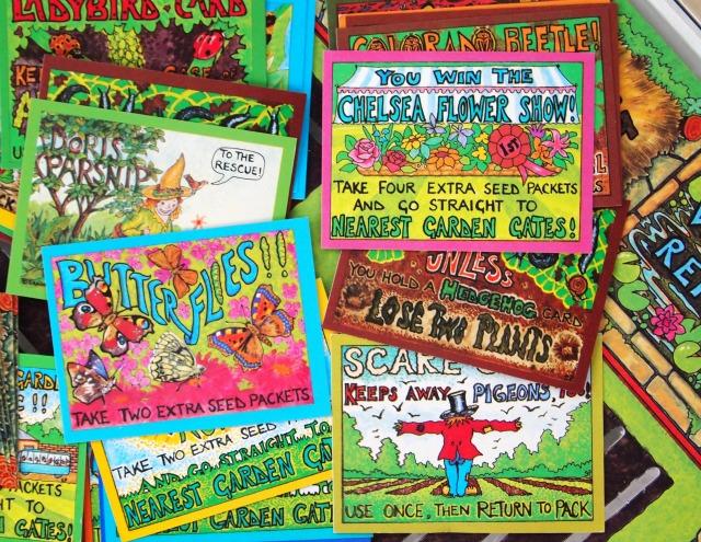 The Garden Game Cards