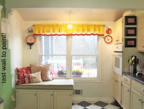 kitchen window wall