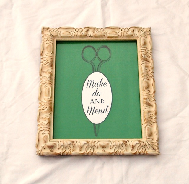 make do and mend printable