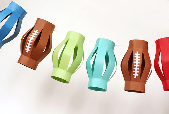 super bowl lanterns