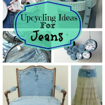 upcycling ideas for jeans