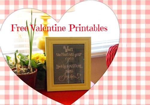 Roundup of Free Valentine's Day  Printables