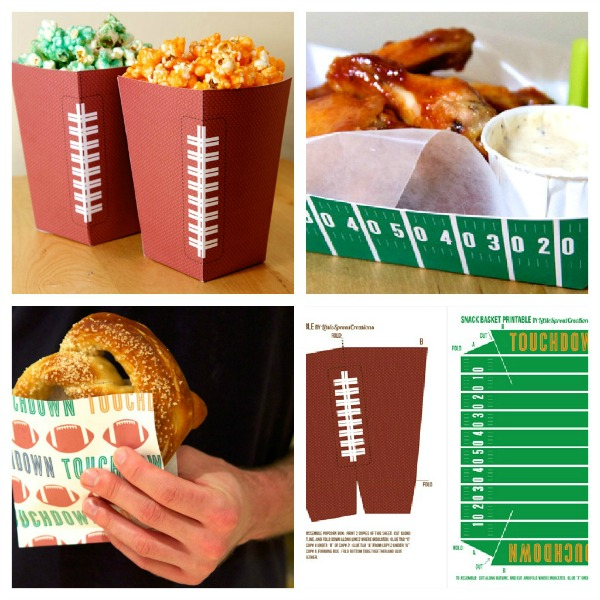 Super Bowl Party Snack Pack