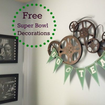 Decorations For Your Super Bowl Party!
