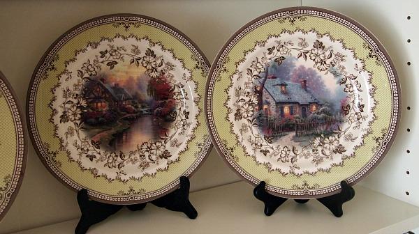 Thomas Kinkade Plates