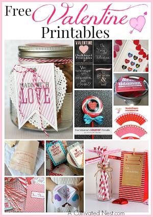 14 Free Valentine's Day Printables
