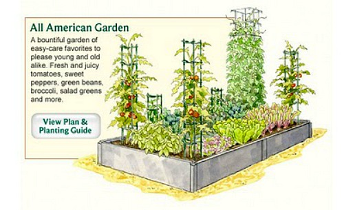 Garden technology how to plan your vegetable garden a for Planning out a vegetable garden