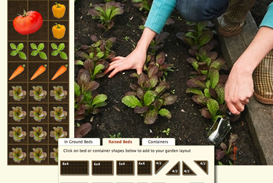 Online Vegetable Garden Planners - use technology to create your most beautiful and productive vegetable garden this year! vegetable gardening, online garden planners, growing vegetables, how to plan out your vegetable garden #gardening #vegetablegargen