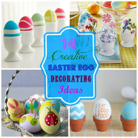 14 Creative Easter Egg Decorating Ideas