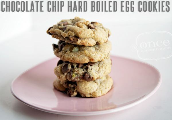 Recipes for Leftover Easter Eggs: Chocolate-Chip-Hard-Boiled-Egg-Cookies