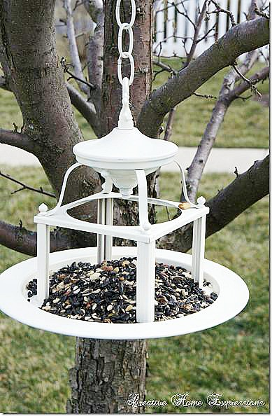 diy bird feeder project