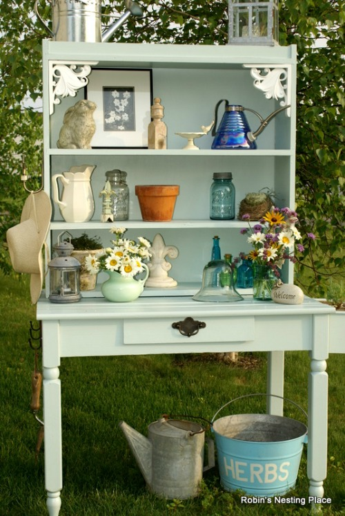 DIY Potting Bench Ideas