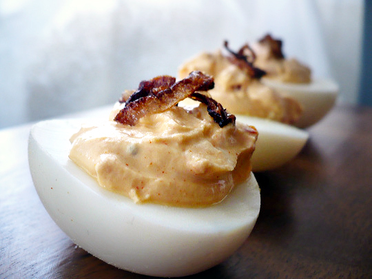 Recipes for leftover Easter Eggs: smoky-deviled-eggs