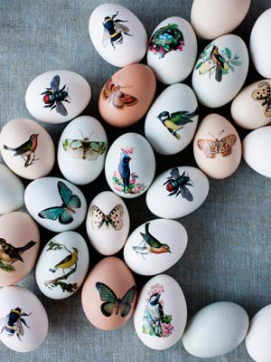 temporary tattoo paper Easter eggs