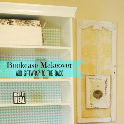 Working On My Office – Bookcase Makeover
