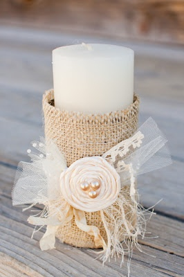 burlap-covered-tin-can-candle-holder