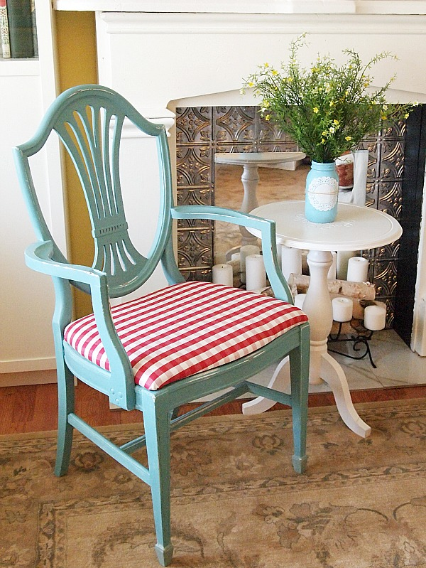 a little painted chair makeover a cultivated nest