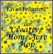 Creative HomeAcre I Was Featured {Featured On}