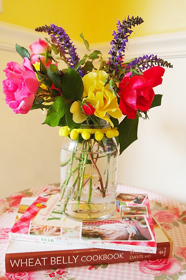 bouquet from my garden