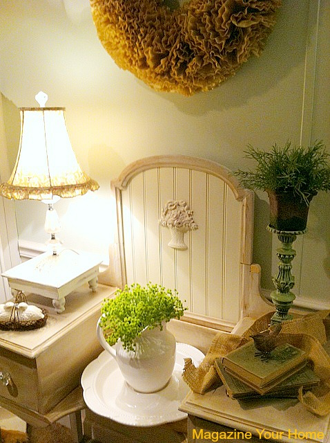 vanity makeover with beadboard