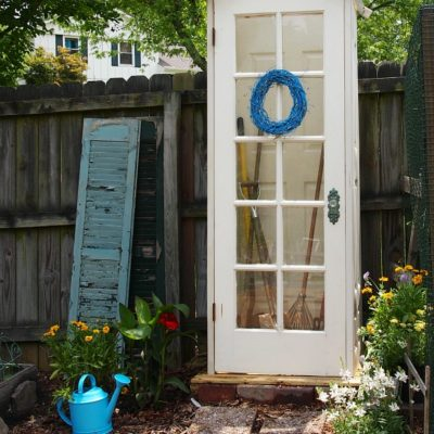small diy garden shed