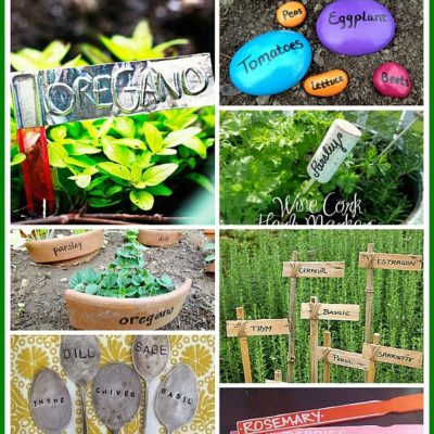 11 Creative Plant Marker Ideas