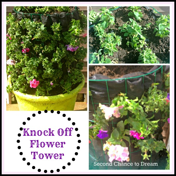 knock of flower tower