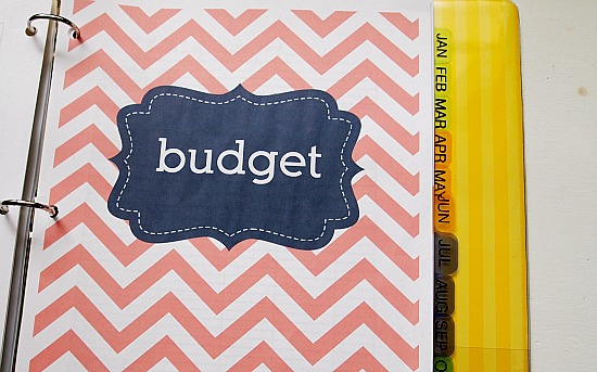 How to make a household budget binder and free printable budget planner pages