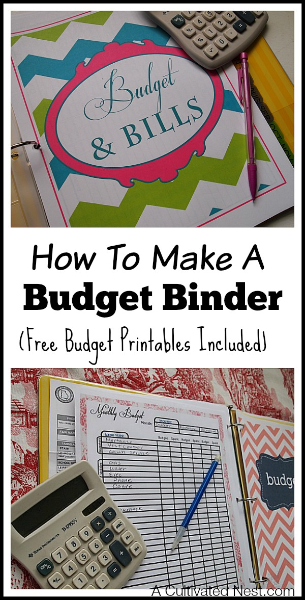 photo regarding Free Budget Planner Printables known as How in direction of Create A Spending plan Binder