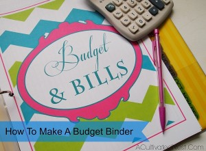 Making A Budget Binder & A List of Free Printable Financial Planning Pages