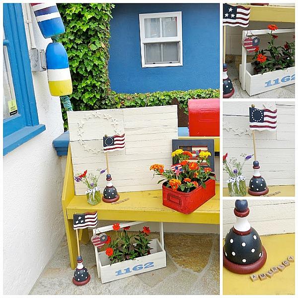 patriotic porch decorations