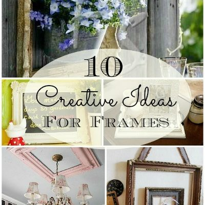 10 ideas for repurposing picture frames
