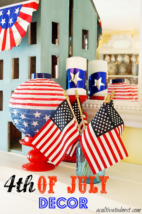 4th of july decor for 4 of july decorations