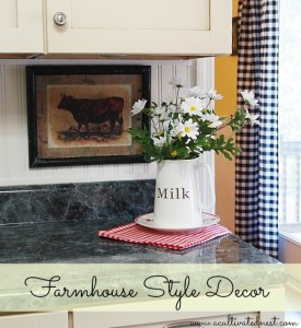 Farmhouse Style Wall Decor-My Cow Art!