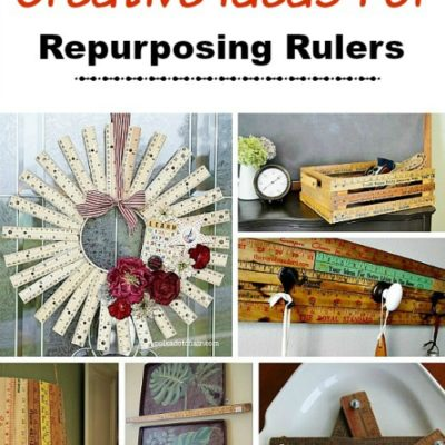 Craft Projects Using Rulers