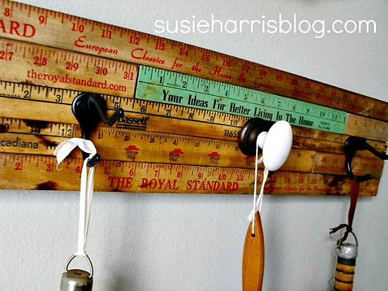 Repurposed ruler projects like this repurposed ruler-coat-hanger